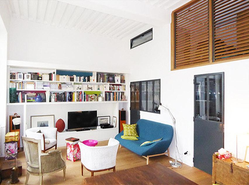 architecture d'intérieur salon lyon